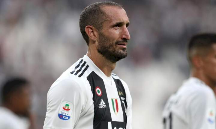 You should have left Juventus earlier - Chiellini hits out at Ronaldo