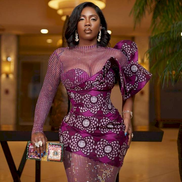 Alleged tape of Tiwa Savage with married man leaks...