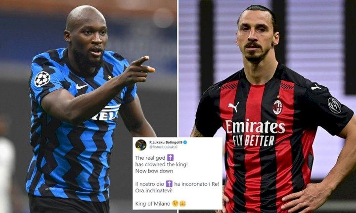 Lukaku tells Ibrahimovic to 'bow down' after Inter Milan win Serie A title
