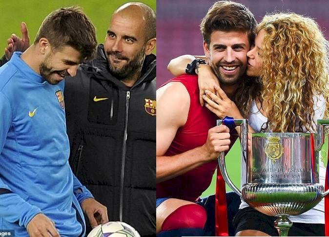 Gerard Pique reveals his relationship with Pep Guardiola changed when he started dating Shakira