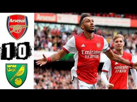 Arsenal 1 - 0 Norwich (Sep-11-2021) Premier League Highlights