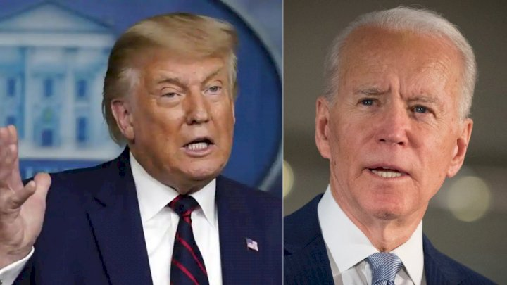 Trump 'attacks' Biden over 'bad decision'