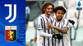 Juventus 3 - 1 Genoa (Apr-11-2021) Serie A Highlights