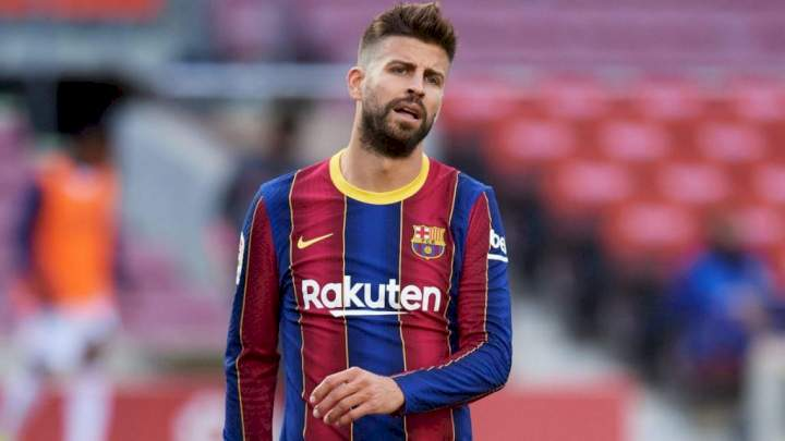 Barcelona put Pique, 3 other senior players for sale