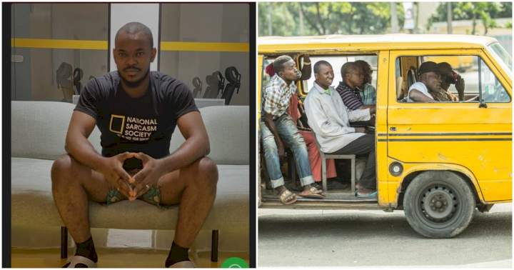 """This lady inside the bus was rubbing my leg"" - Man narrates his ordeal with a pervert"