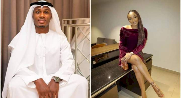 Footballer, Ighalo, wife trade tackles on social media