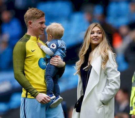 De Bruyne Describes How His Wife Has Changed His Life After He Slid In Her DM