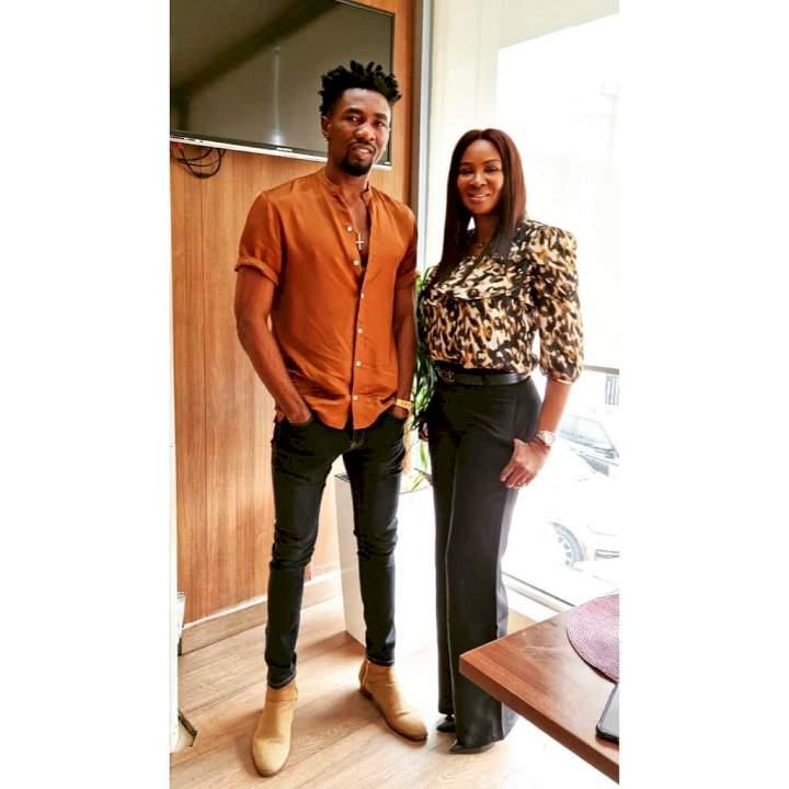 BBNaija: Ex-housemate, Boma signs ambassador deal with Africa International Film Festival