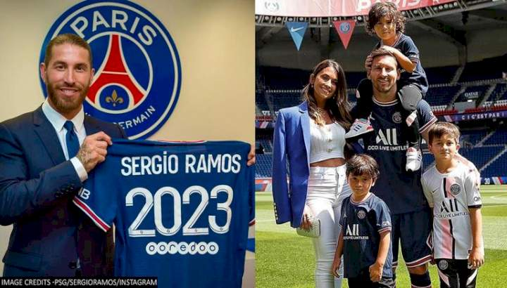 Sergio Ramos invites Lionel Messi and family to stay at his new Paris home