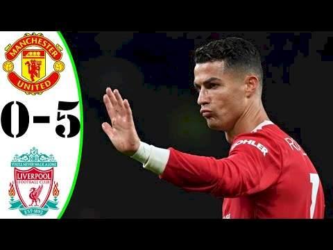 Manchester Utd 0 - 5 Liverpool (Oct-24-2021) Premier League Highlights