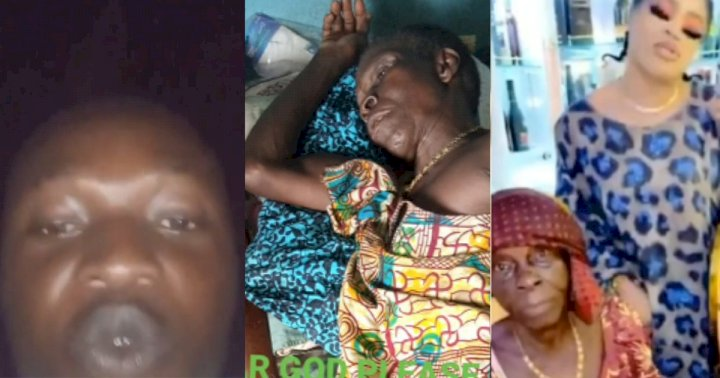 Man calls out Bobrisky for allegedly asking to sleep with him before he can help his sick grandmother (Video)