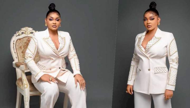 """""""I need an American or Canadian man to marry me"""" - Actress Mercy Aigbe cries out after being stuck in Lagos traffic"""