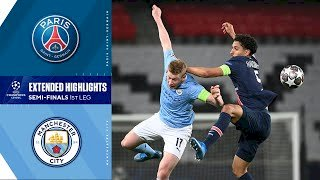 Paris SG 1 - 2 Manchester City (Apr-28-2019) UEFA Champions League Highlights