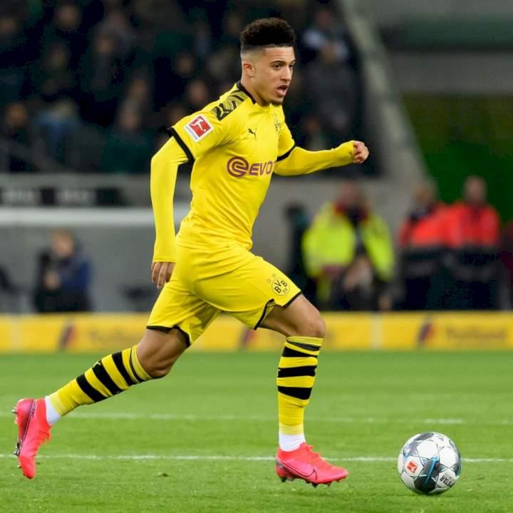 Dortmund reduce transfer fee for Sancho as Man Utd close in on deal