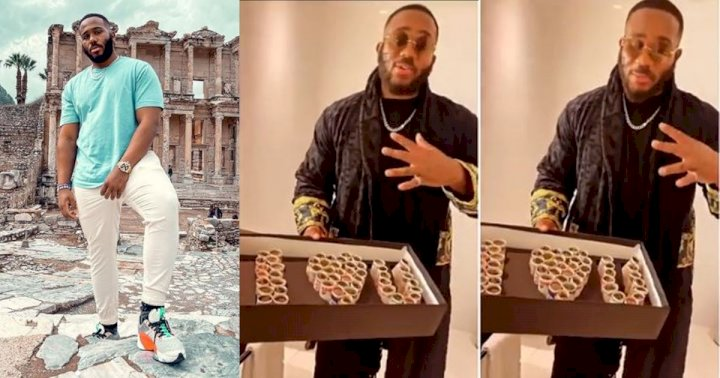 """""""Sending money to money"""" - Reactions as fans bless Kiddwaya with money gift (Video)"""