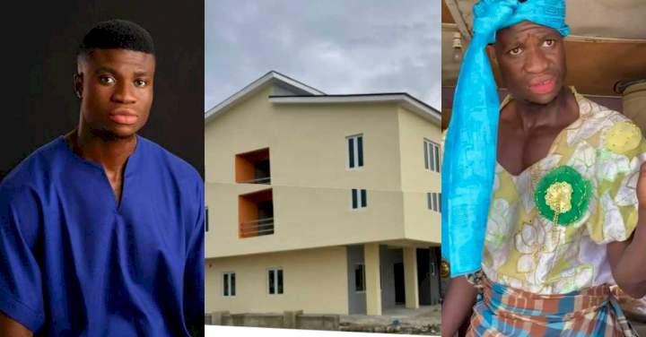 Comedian Zicsaloma acquires a house weeks after gifting himself a Benz
