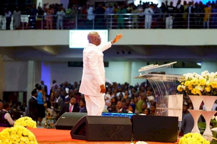 Bishop Oyedepo recounts how worshipper once ran mad while trying to steal from his church