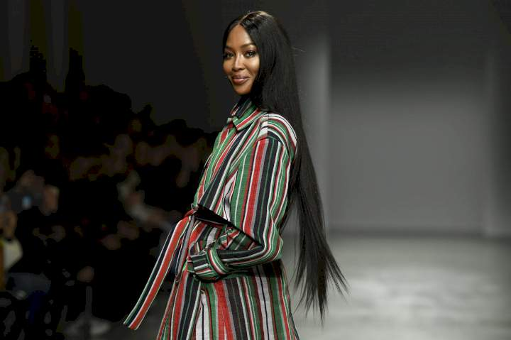 Naomi Campbell Welcomes Her First Baby At 50