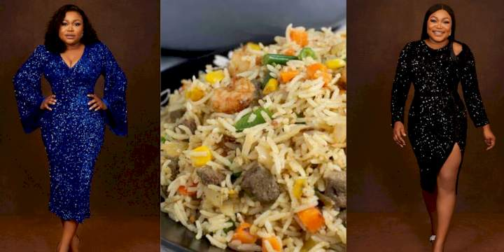 """My coconut rice draw like Okro"" - Actress, Ruth Kadiri laments how learning from YouTube tutorial failed her"