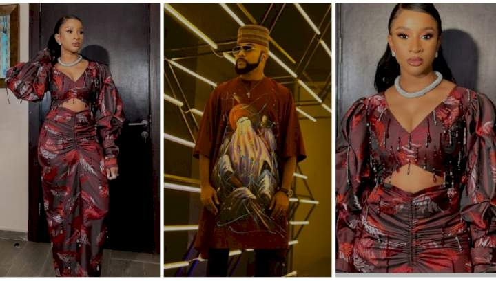 """""""Your husband carry eye go market"""" - Banky W says as he gushes over new photos of Adesua Etomi"""