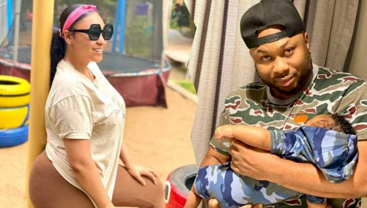 """""""I am grateful to be sharing life with someone like you"""" - Rosy Meurer celebrates Churchill on Father's Day"""