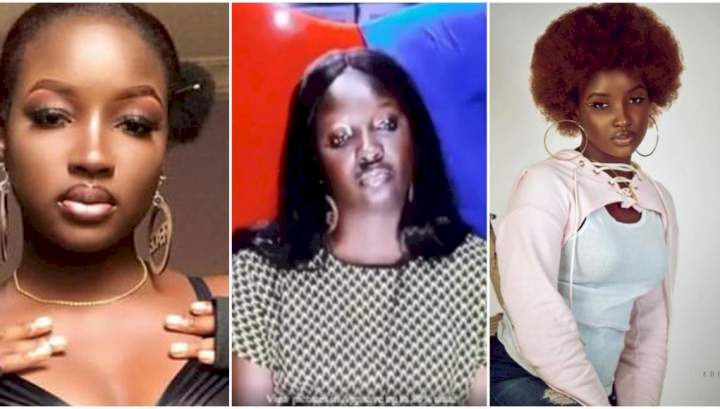 """#BBNaija: """"I'm sad because no guy likes me in the house"""" -Saskay (Check out fans reactions)"""