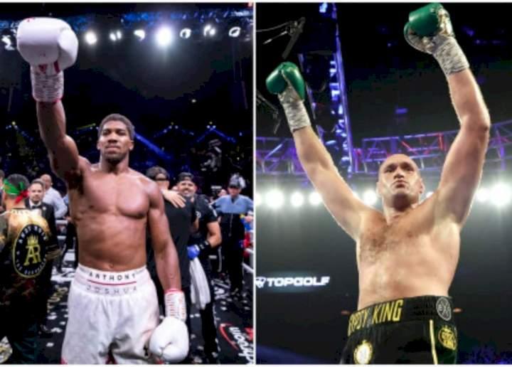 Anthony Joshua vs Tyson Fury: David Haye predicts winner of heavyweight bout