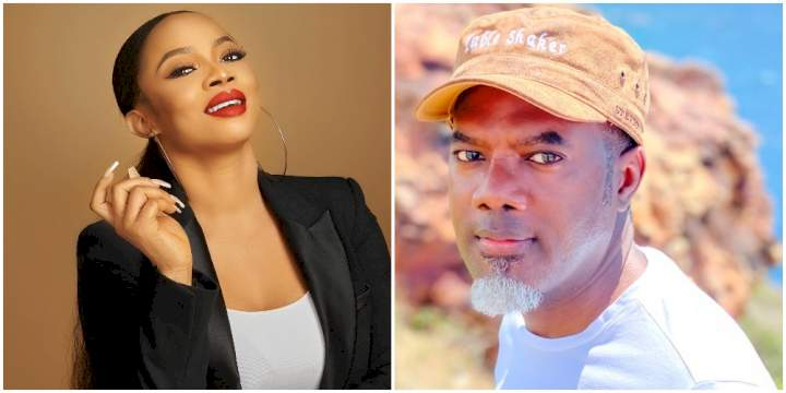 I'm hoping for his sake, it's not true - Toke Makinwa shades Reno Omokri over alleged new baby with UK based lover