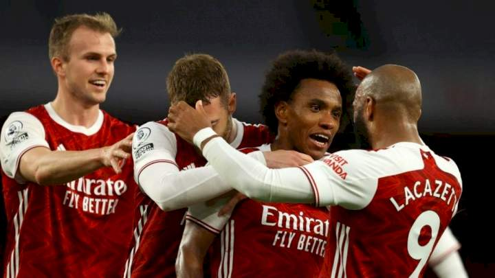 EPL: Arsenal's squad to face Crystal Palace revealed (Full list)