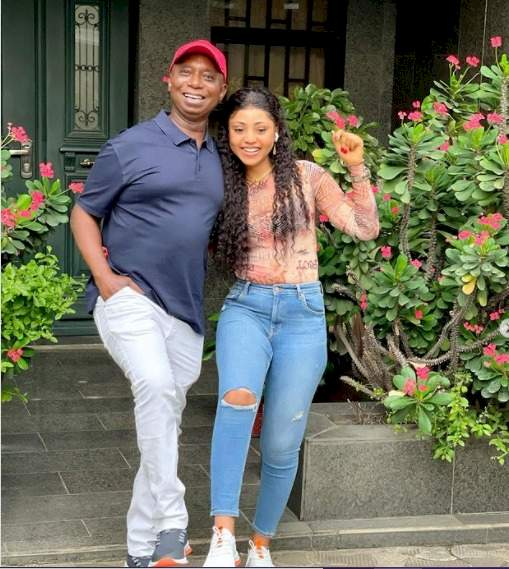 """""""I'm Obsessed With His Legs"""" - Regina Daniels Says As She Drools Over Her Husband, Ned Nwoko"""