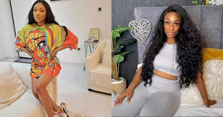 """""""Don't let me expose you"""" - Footballer, Jude Ighalo's estranged wife, Sonia shades Uriel Oputa after she said lots of women are camping on her ex's DM"""