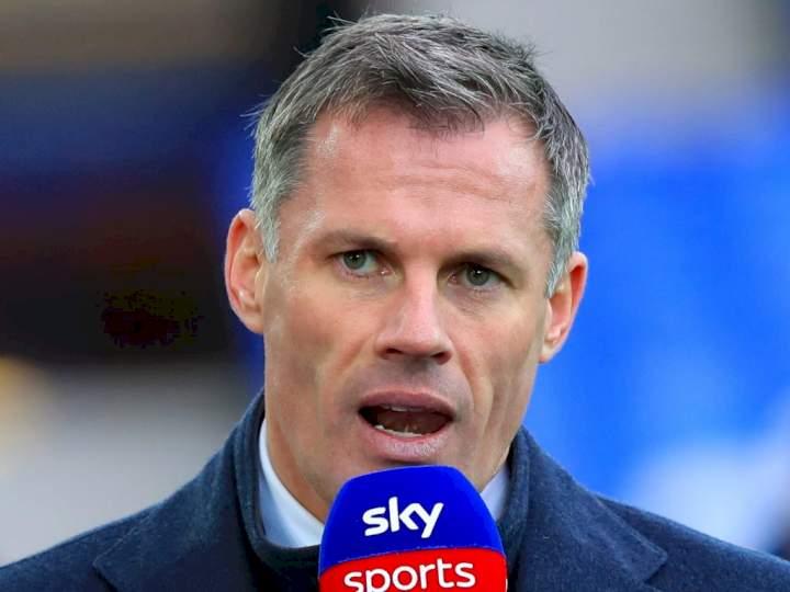 EPL: Jamie Carragher exposes Man Utd's biggest problem this season