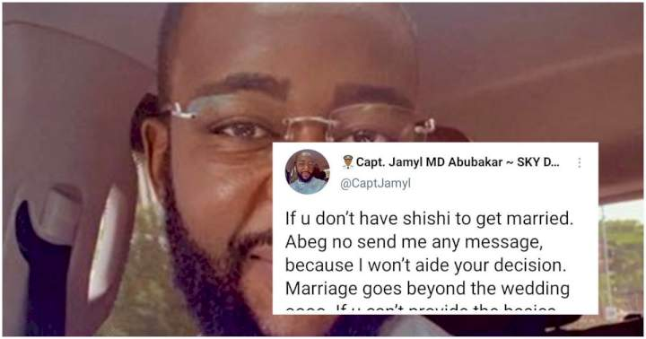 """If you don't have shishi to get married to me, I'm not interested"" - Aliko Dangote's son-in-law warns prospective wives"