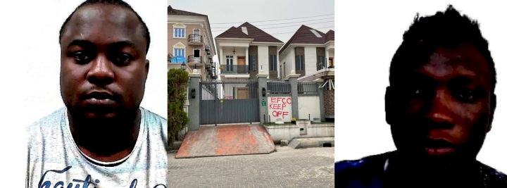 Two Internet fraudsters forfeit N200M cash, luxury cars and properties worth N260M to EFCC (Photos)