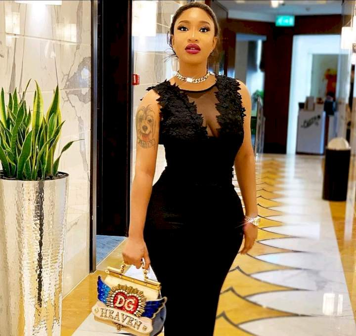 """""""Don't be desperate to leave the country, you can make it in Nigeria - Tonto Dikeh"""