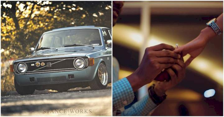 """""""Even your father could not afford Volvo when it was N200"""" - Man slams girlfriend who turned down his marriage proposal"""