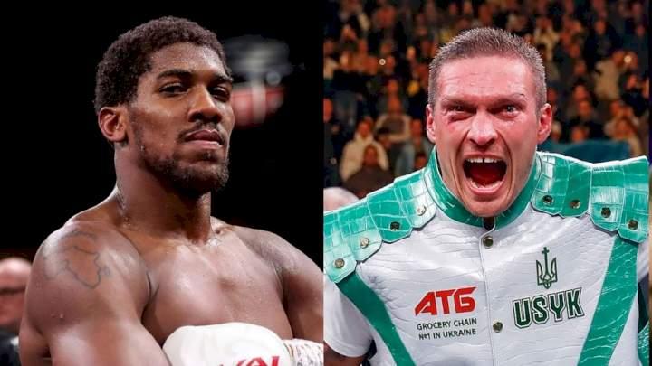 Anthony Joshua vs Oleksandr Usyk: Details of fight date, venue, TV confirmed