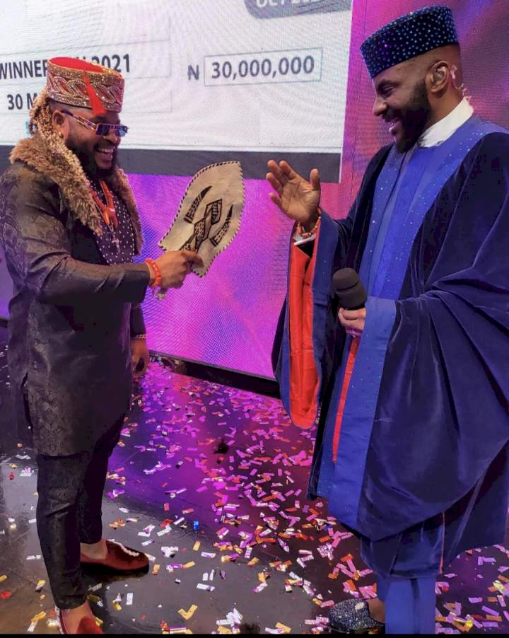 BBNaija: 'Predictable' - Nigerians react as Whitemoney wins with 47% votes