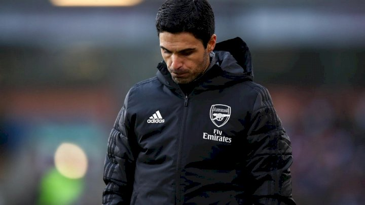EPL: Arteta 'losing Arsenal dressing room' ahead of Sheffield Utd clash