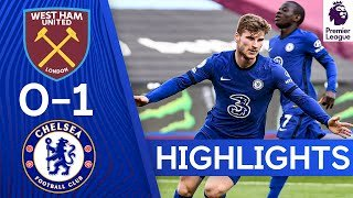 West Ham 0 - 1 Chelsea (Apr-24-2021) Premier League Highlights