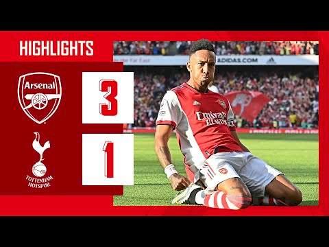 Arsenal 3 - 1 Tottenham (Sep-26-2021) Premier League Highlights