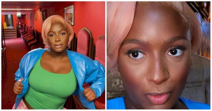 """""""This one is better"""" - Reactions as DJ Cuppy rocks new look (Photo)"""