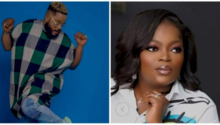 """BBNaija: """"He's just too real"""" - Actress Funke Akindele pulls support for White Money"""