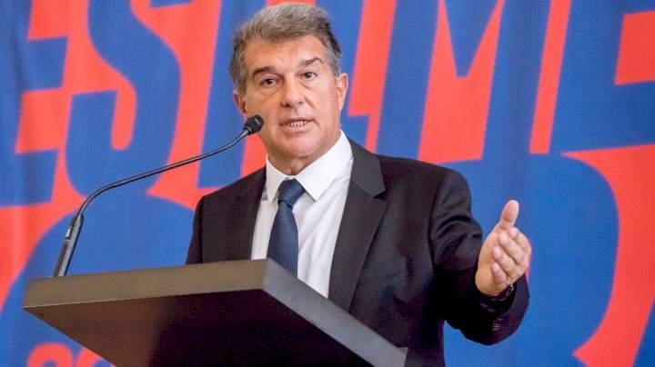 LaLiga: Barcelona President, Laporta takes final decision on manager to replace Koeman