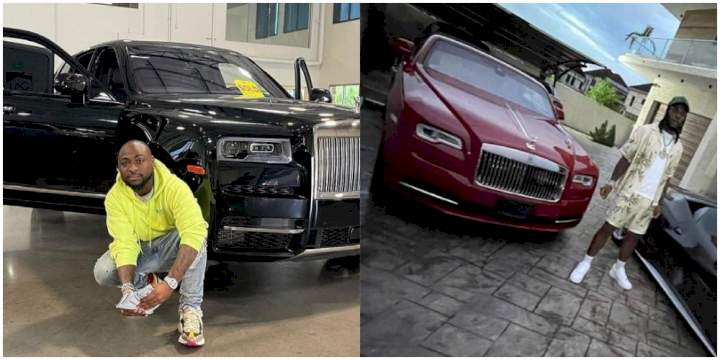 """""""Burna Boy's Rolls Royce is more expensive than Davido's new whip"""" - Burna Boy's PA, Manny reveals"""