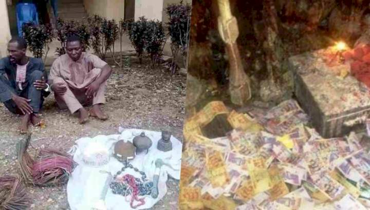 Herbalists k*ll customer who came to them for money ritual, then used his body parts to do money ritual for themselves