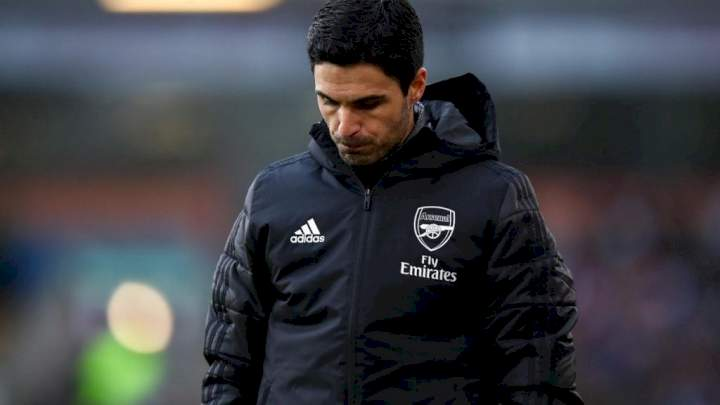 Burnley vs Arsenal: Arteta to be without three key players for EPL clash