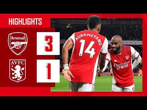 Arsenal 3 - 1 Aston Villa (Oct-22-2021) Premier League Highlights