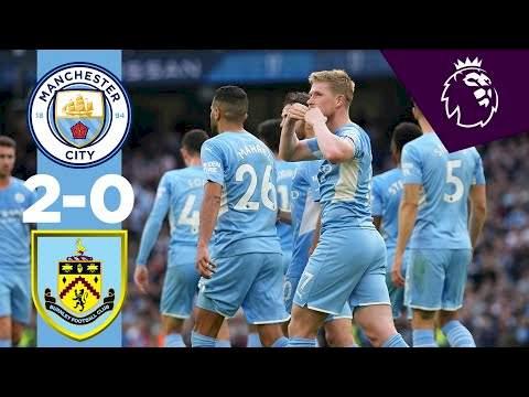 Manchester City 2 - 0 Burnley (Oct-06-2021) Premier League Highlights