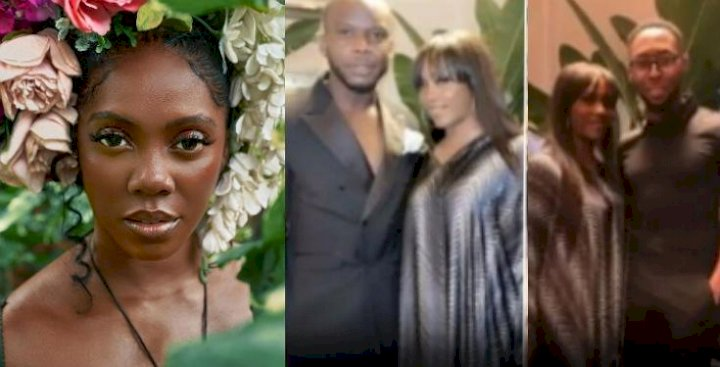 Tiwa Savage finally reacts to reports that she's pregnant for Davido's staff, Obama DMW